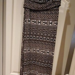 Maxi skirt cotton